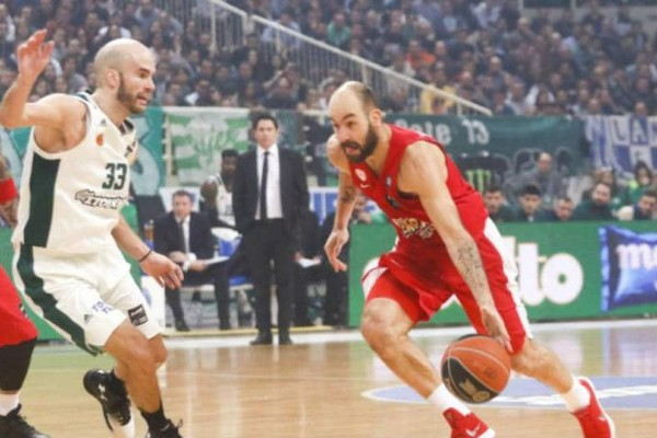 Basket League: Ολυμπιακός - Παναθηναϊκός στα play off!