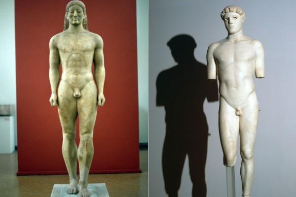 Γιατί τα αρχαία ανδρικά αγάλματα έχουν μικρά μόρια;