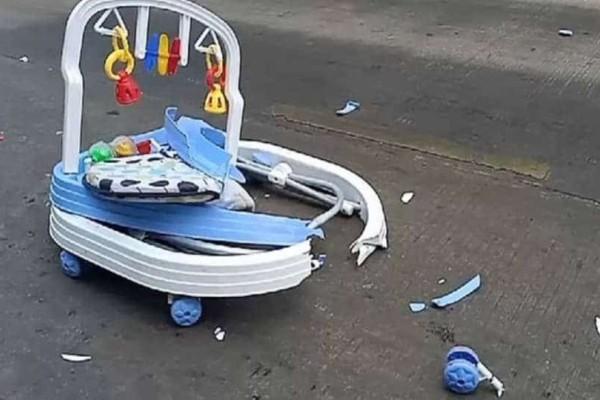Τραγικό δυστύχημα για βρέφος 8 μηνών που παρασύρθηκε από φορτηγό!