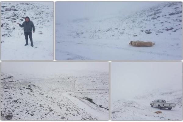 Aπίστευτο: Σε ποιά περιοχή της Ελλάδας χιόνισε;