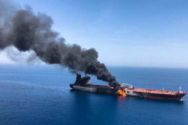 Ευθύνες στην Τεχεράνη επιρρίπτει η Ουάσινγκτον για τις επιθέσεις στα δεξαμενόπλοια!