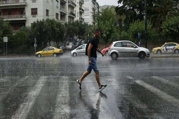 Έκτακτο δελτίο καιρού: Ραγδαία επιδείνωση με βροχές και χαλάζι!