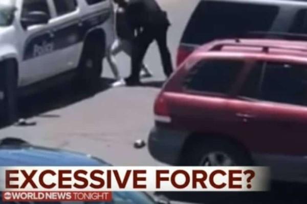 ΗΠΑ: Βίαιη πρόσληψη αφροαμερικανών μπροστά στον έντρομα παιδιά τους! (Video)