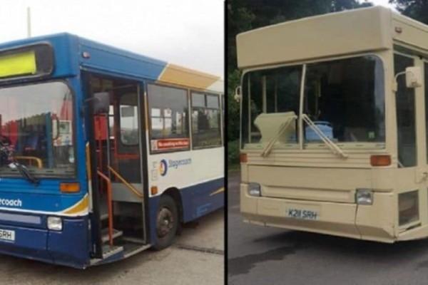 Αγόρασαν ένα παλιό λεωφορείο με 1.300 ευρώ και το μετέτρεψαν στο σπίτι των ονείρων τους! (photos)