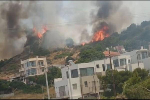 Υπό έλεγχο η φωτιά στο Λαγονήσι!