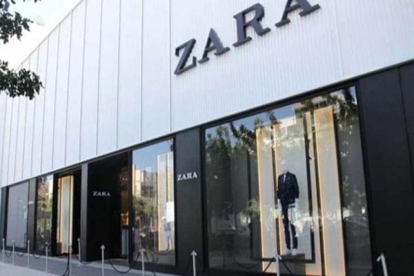 Zara: Το ροζ φόρεμα που κολακεύει κάθε σωματότυπο!