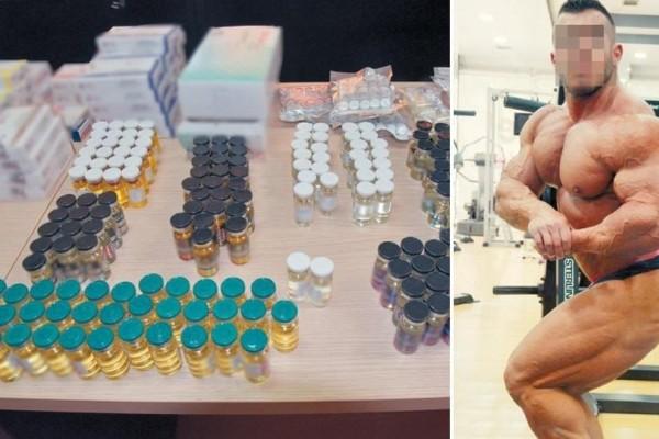 Επιχείρηση εξάρθρωσης κυκλώματος αναβολικών: Προωθούσαν παράνομα χάπια σε αθλητές του bodybuilding