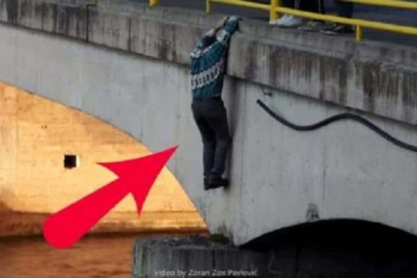Aυτός ο άντρας πήδηξε από την γέφυρα! Ο λόγος που το έκανε θα σας συγκινήσει σίγουρα!