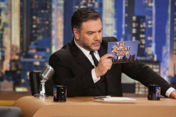Γρηγόρης Αρναούτογλου: Αυτοί είναι οι αποψινοί καλεσμένοι στο The 2Night Show!