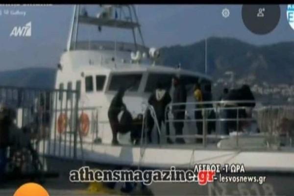 Τραγωδία στη Λέσβο: 6 νεκροί από το ναυάγιο με μετανάστες! (Video)