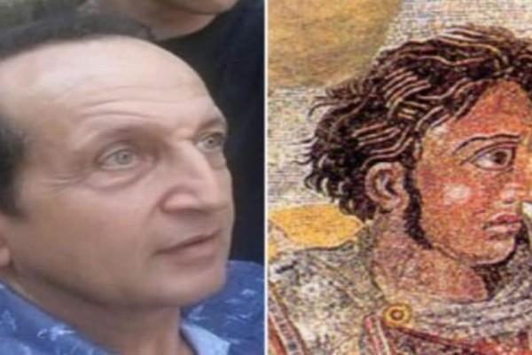 Ο Σπύρος Μπιμπίλας δηλώνει ότι μοιάζει με τον Μέγα Αλέξανδρο! (Video)