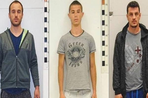 Δολοφόνος, διαρρήκτης και πρωτοπαλίκαρο μαφίας οι 3 Αλβανοί δραπέτες: Φωτογραφίες τους στην δημοσιότητα!