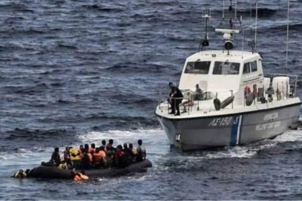 Σάμος: Διάσωση 38 μεταναστών!