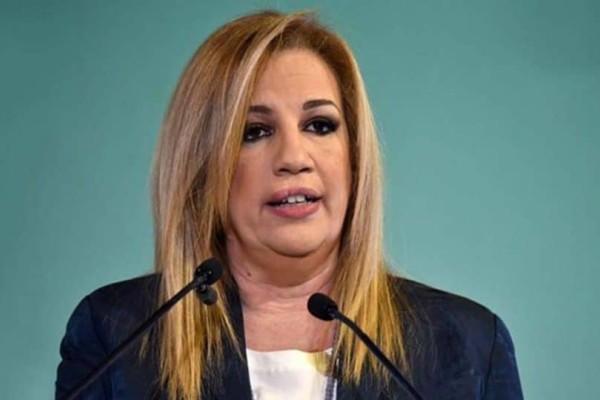 Φώφη Γεννηματά: Σφοδρή επίθεση στον ΣΥΡΙΖΑ!