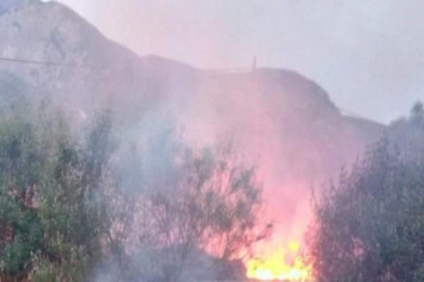 Λαμία: Πυρκαγιά σε κέντρο φιλοξενίας προσφύγων!
