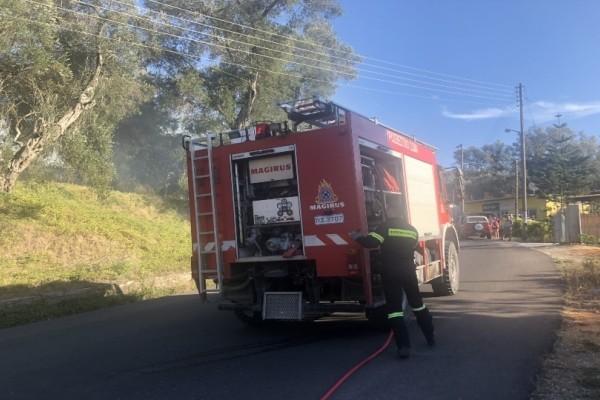 Κέρκυρα: Σπίτι τυλίχθηκε στις φλόγες!