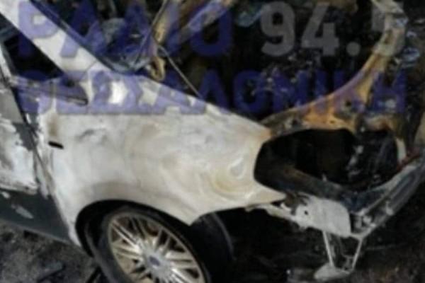 Θεσσαλονίκη: Στις φλόγες παραδόθηκαν 2 αυτοκίνητα!