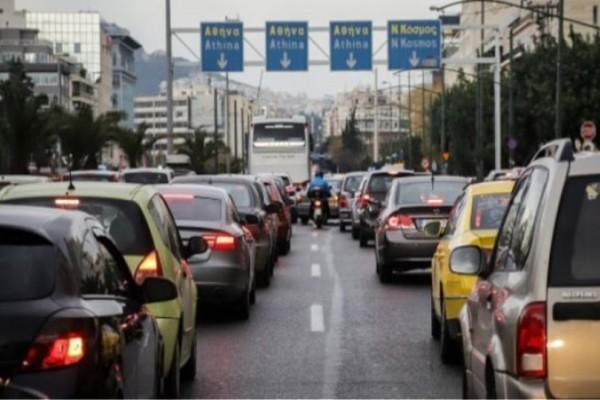 Κυκλοφοριακό χάος στη λεωφόρο Συγγρού!