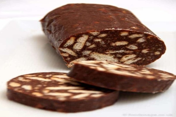 Μωσαϊκό σοκολάτας για το ψυγείο!
