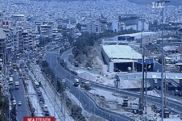 Προσοχή: Κλειστή η Παραλιακή στο ρεύμα προς Πειραιά!