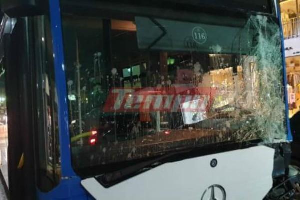 Πανικός στην Πάτρα: Ακυβέρνητο λεωφορείο δημιούργησε αναστάτωση αλλά και... ζημιές!
