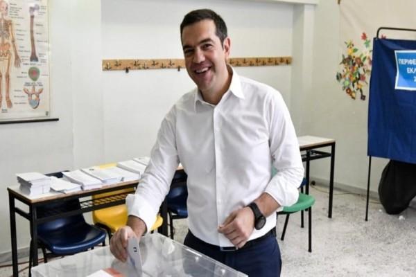 Ψήφισε ο Αλέξης Τσίπρας!