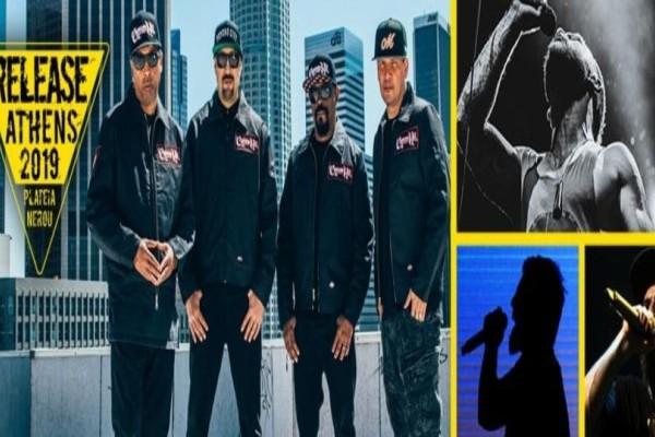 Απόψε στην Πλατεία Νερού οι θρύλοι του hip hop, Cypress Hill!