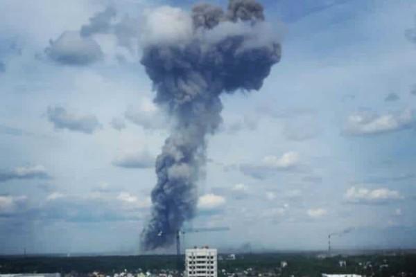 Εκρήξεις σε εργοστάσιο εκρηκτικών στην Ρωσία!