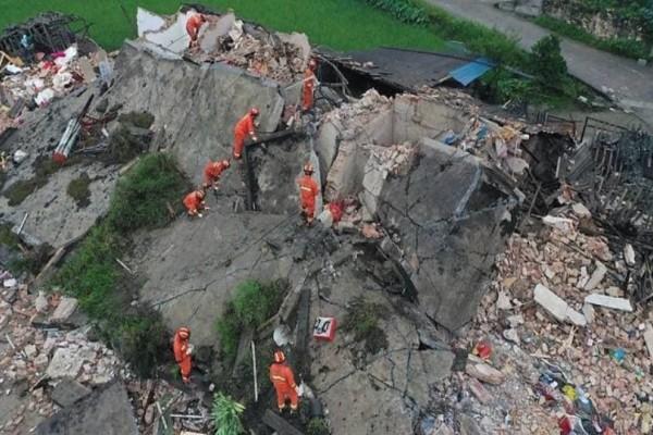 Φονικός σεισμός 6 Ρίχτερ στην Κίνα!