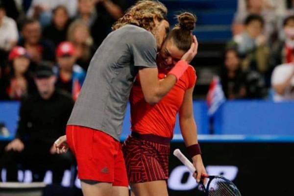 Νέος έρωτας: Μαρία Σάκκαρη - Στέφανος Τσιτσιπάς: Ο έρωτας για το τένις τους φέρνει πιο κοντά!