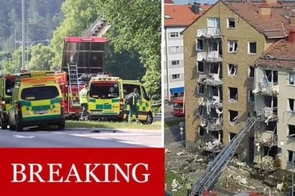 Έκρηξη στη Σουηδία: Δεκάδες τραυματίες!