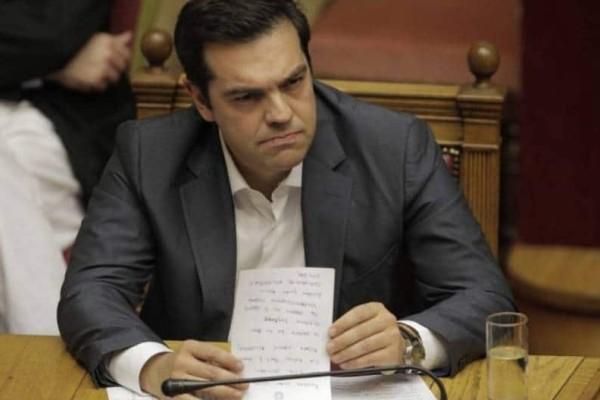 Ο Αλέξης Τσίπρας δείχνει το δρόμο της εξόδου σε όλους μιλήσουν στον ΣΚΑΙ