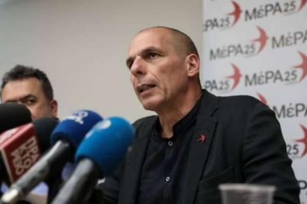 Γιάνης Βαρουφάκης: Υπάρχει ενδεχόμενο συνεργασίας με ΣΥΡΙΖΑ αλλά και με ΝΔ!
