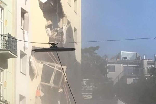 Βιέννη: Κατέρρευσαν όροφοι από δύο κτίρια ύστερα από έκρηξη!