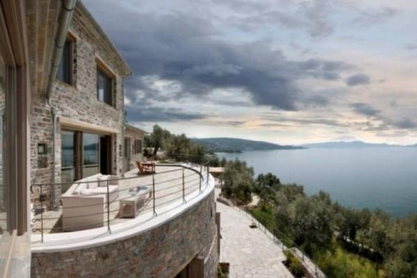 Το παραμυθένιο σπίτι στο Πήλιο με την απίστευτη θέα στη θάλασσα! (photos)