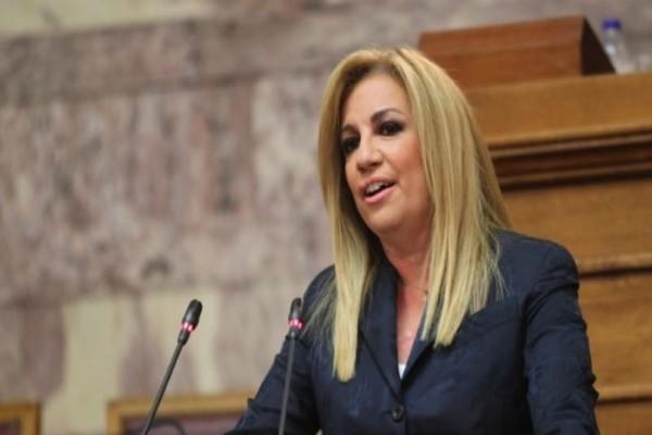 Φώφη Γεννηματά: Στις εκλογές θα κριθεί το μέλλον της στο κόμμα!