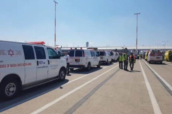 Συναγερμός στο Ισραήλ: Αεροπλάνο εκτελεί αναγκαστική προσγείωση με μια ρόδα!
