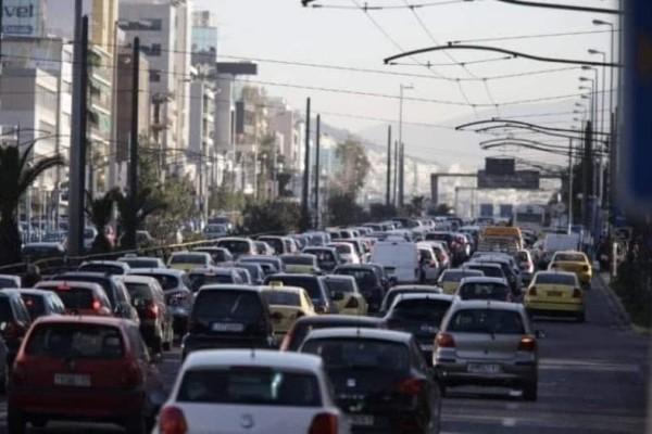 Κίνηση στους δρόμους: Μεγάλο μποτιλιάρισμα στον Πειραιά - Κυκλοφοριακό χάος!