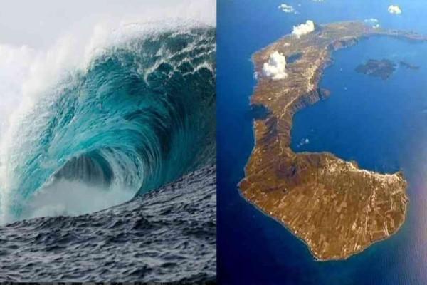 Έλληνας επιστήμονας προειδοποιεί για τσουνάμι στην Ελλάδα από το ηφαίστειο της Σαντορίνης!