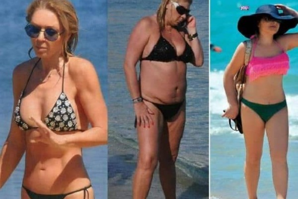 Πάθαμε πλάκα: Αυτές οι Ελληνίδες celebrities έχουν πατήσει τα 50 και βάζουν κάτω 20άρες με τα μαγιό τους!