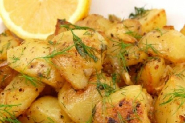 Πανεύκολες τραγανές πατάτες φούρνου λεμονάτες!