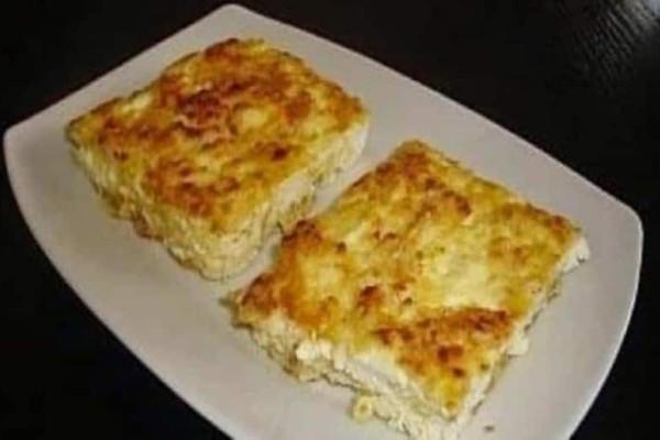 Πανεύκολη τυρόπιτα με 2 υλικά!