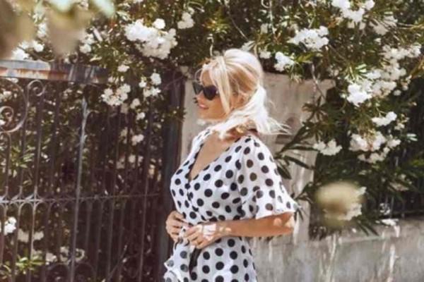 Zara: Υιοθέτησε το πουά look της Φαίης Σκορδά με λιγότερο από 30 ευρώ!