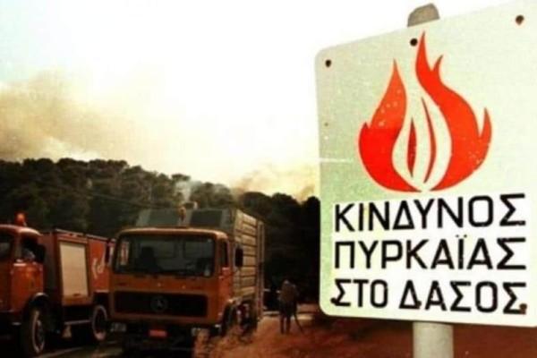 Μεγάλη προσοχή! Η Υπηρεσία του Πολίτη προειδοποιεί: Υψηλός κίνδυνος πυρκαγιών και σήμερα!
