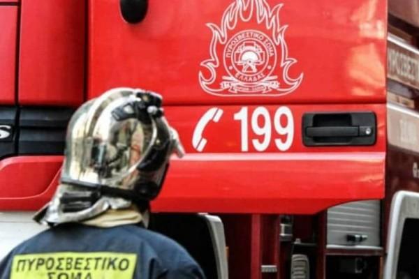 Μυτιλήνη: Πυρκαγιά στο ιστορικό κέντρο!