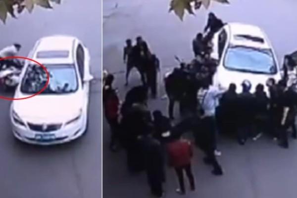 Συγκλονιστική διάσωση παγιδευμένης γυναίκας! (Video)