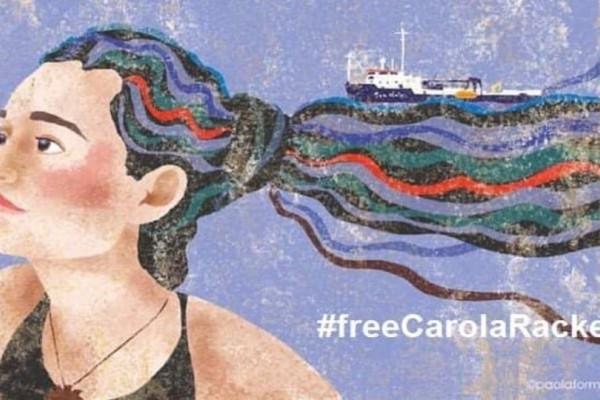 Αφέθηκε ελεύθερη η Καρόλα Ρακέτε!