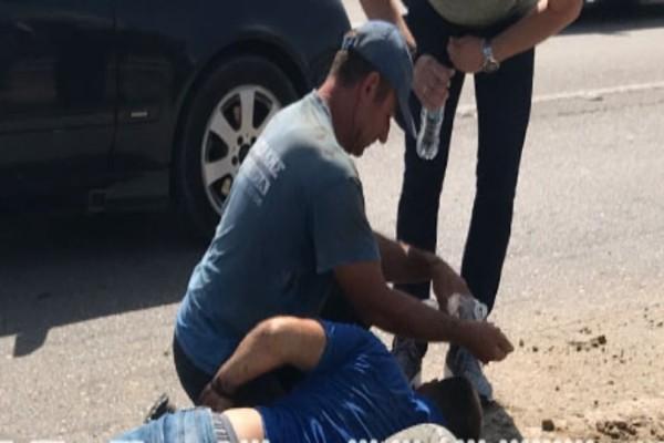 Τροχαίο με έναν τραυματία στην Εθνική οδό Πατρών- Πύργου!