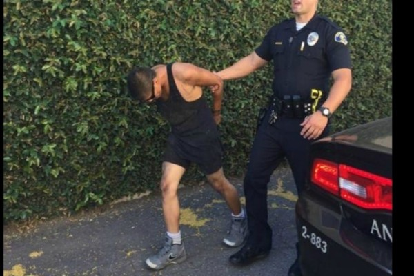 Καταζητούμενος αερίστηκε και τον βρήκε η αστυνομία!