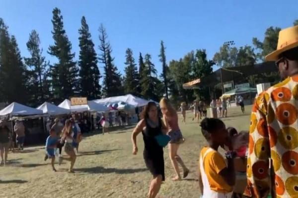 Τρόμος στην Καλιφόρνια: Ένοπλος άνοιξε πυρ σε φεστιβάλ! - Τρεις νεκροί και πολλοί τραυματίες! (Video)